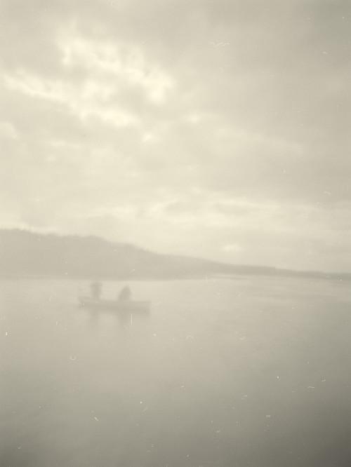 Fishermen, ThreipmuirResevoir, Pentlands , Nr . Edinburghr- pinhole