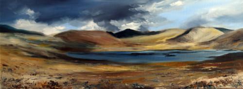 Shifting Shadows Loch Neldricken , 60 x 20 cm, 2016