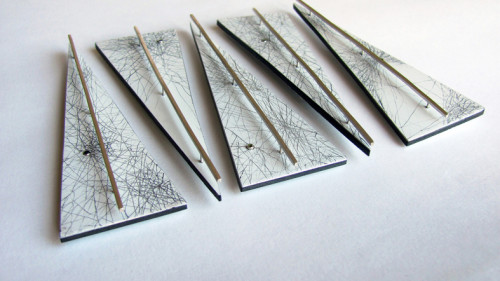 Cartographic Brooches