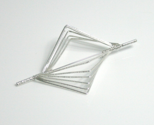 Right Angle Articulated Brooch