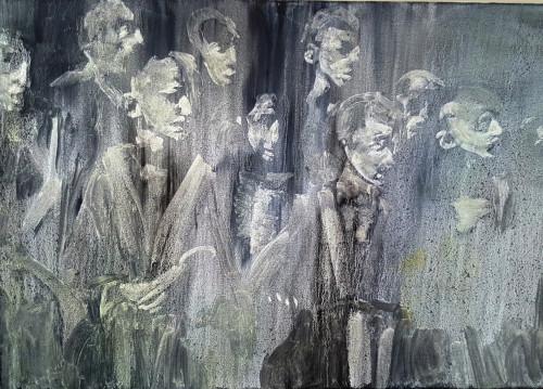 The Waiting Boys, 70x100cm