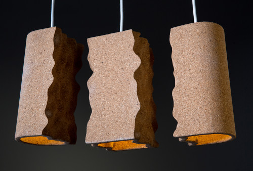 Maroubra Pendant Lights: Cork