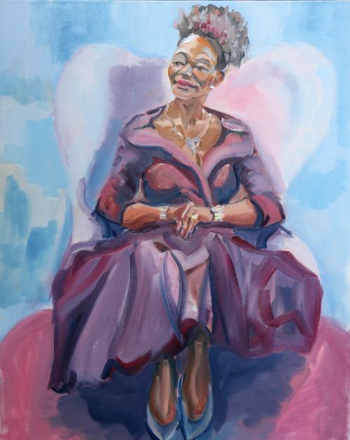 Floella Benjamin - BBC  The Big Painting Challenge