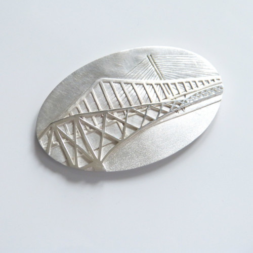 Three Bridges Brooch