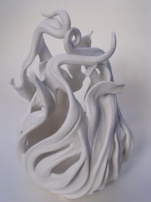 Sea Jar - Porcelain Sculpture    2018