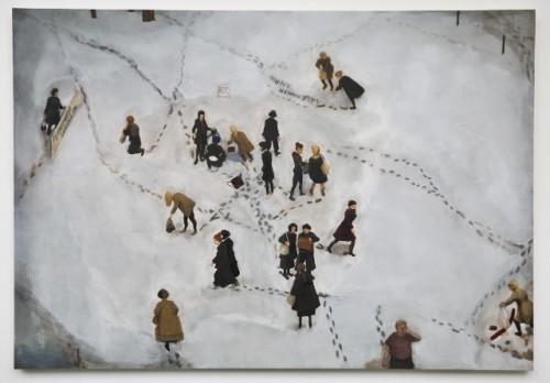 'Wabaduse', oil on canvas, 156cm x 108 cm