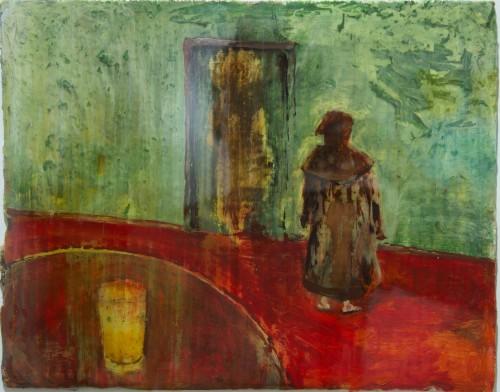 Untitled, Hooded Figure