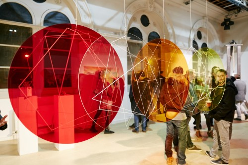 Red | Orange | Yellow (installation view)