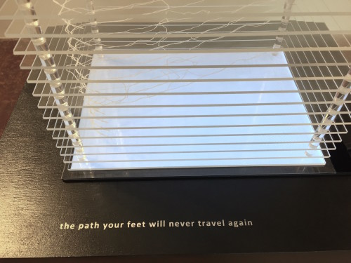 the path your feet will never travel again
