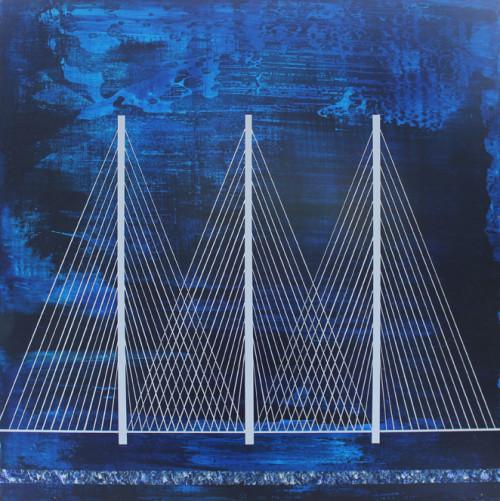 Segments of a new bridge