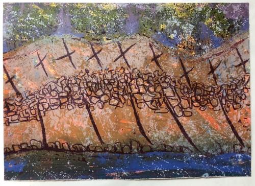deep peat cuttings, Lewis