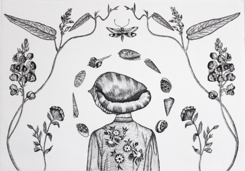Every Possibility But One (Drypoint)