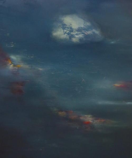 Slippage, oil on canvas, 100x120cm