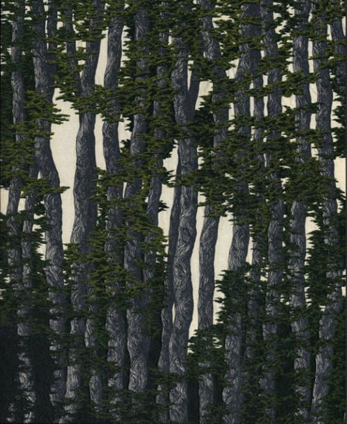 17 Trees (Dark Green)
