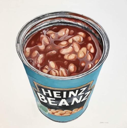 Beans inside