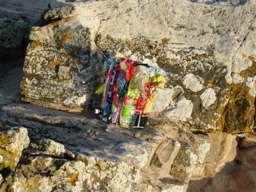 Waste Bin, Dornoch Beach, 2017