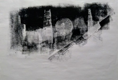 Another London (38 x 49 cm)