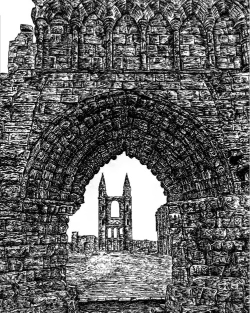 St Andrews Cathedral ''Arch''
