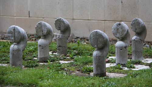 Concrete Swan Necks