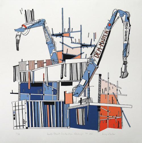 Leith Street Construction, Edinburgh '19 III