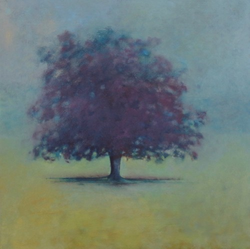 In the Hazy Early Morning (80 x 80cms)