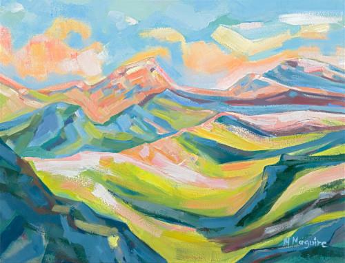 Sunrise On The Hilltops