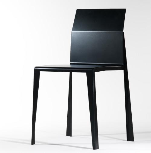 Folded Metal Chair