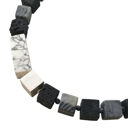 Callisto cube necklace