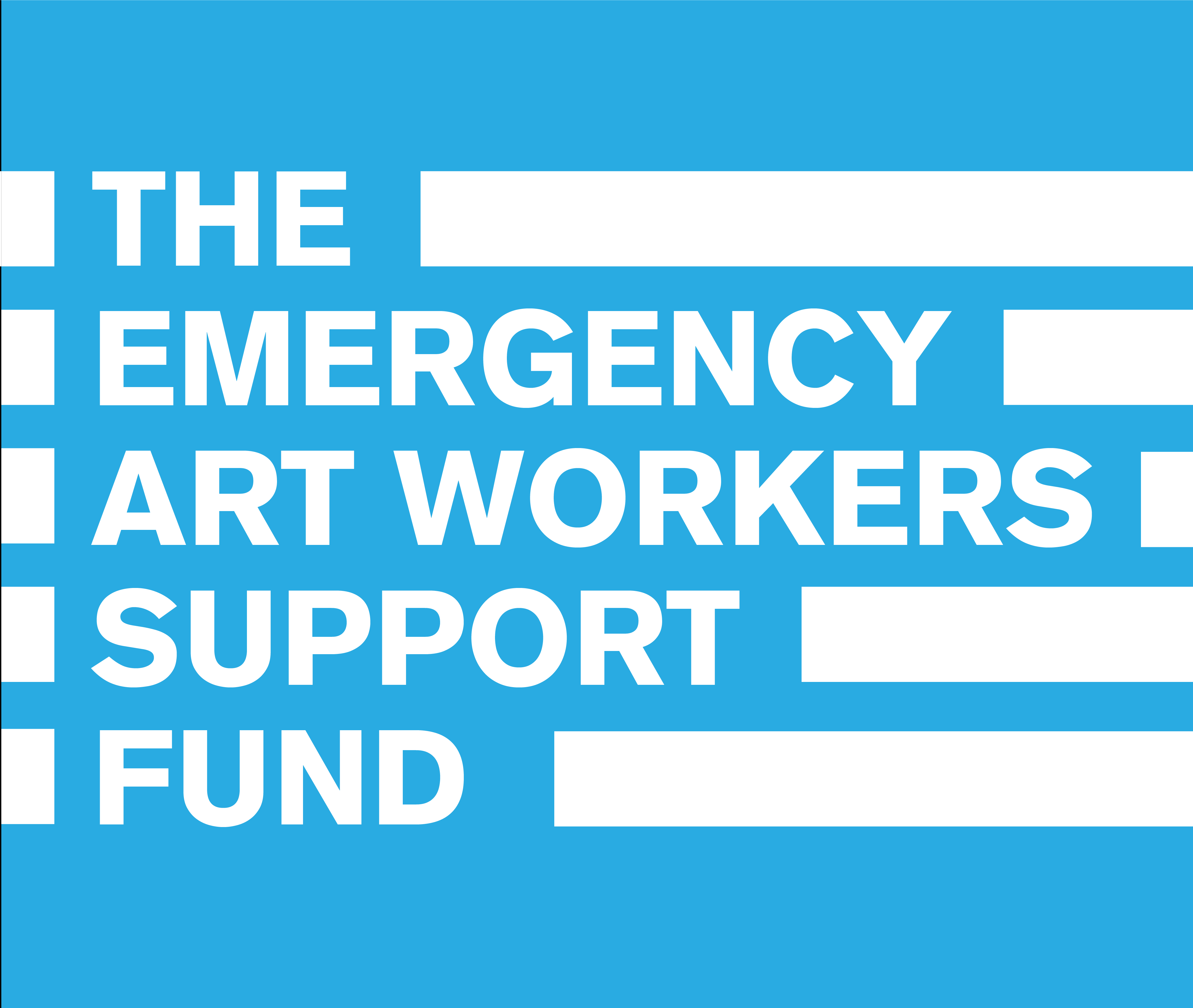 THE EMERGENCY ART WORKERS SUPPORT FUND
