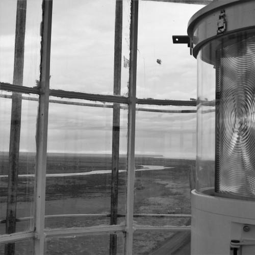 Punta Dungeness Lighthouse-light box OFF