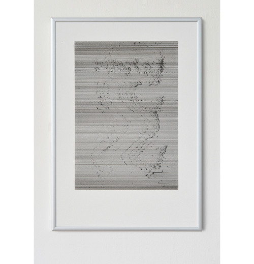 RBDA307, pen on paper, 29.7 x 42 cm 2018