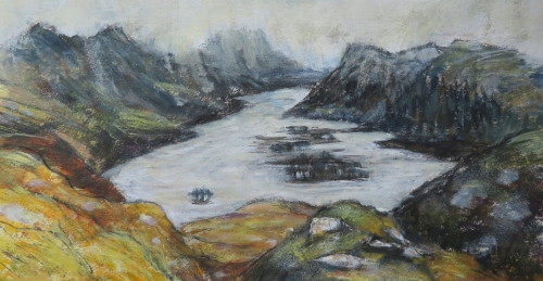 East Along Loch Maree