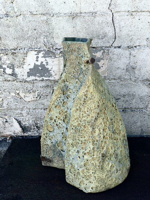 Encrusted Vessel - Curved Implement View 3