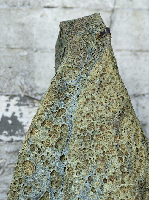 Encrusted Vessel - Curved Implement Detail 1