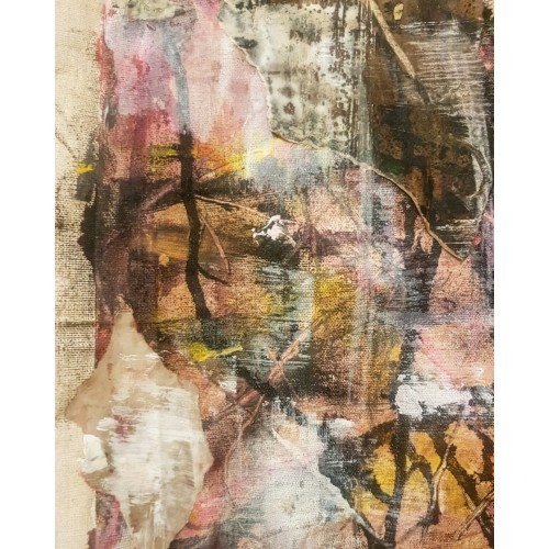 Fragile Layers, Weather Beaten Canvas