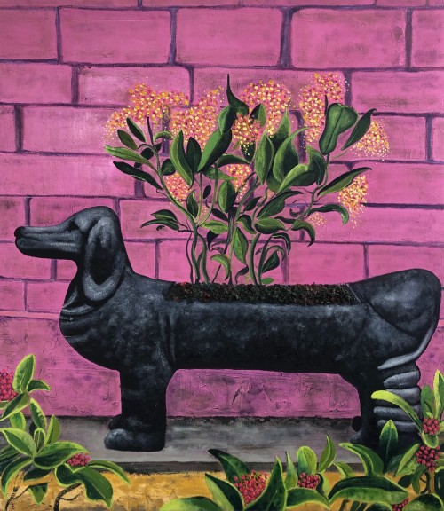 Dachshund Plant pot