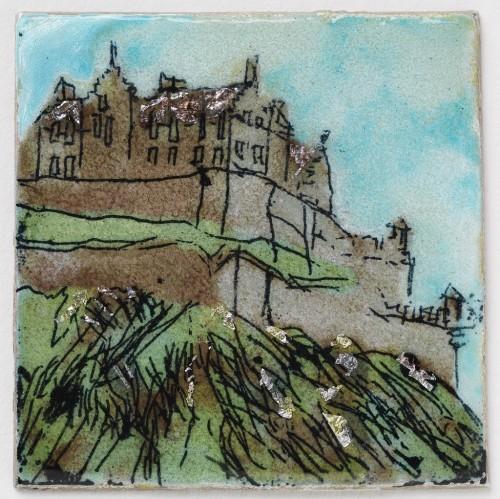 Edinburgh Castle  (test piece)