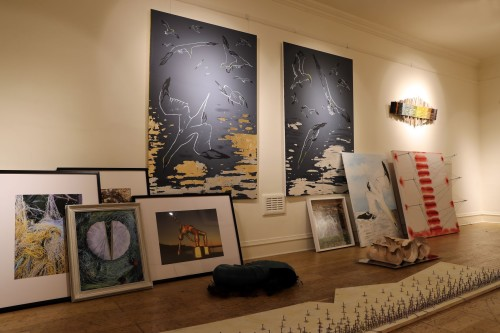 Collection of prints, 3D pieces and paintings