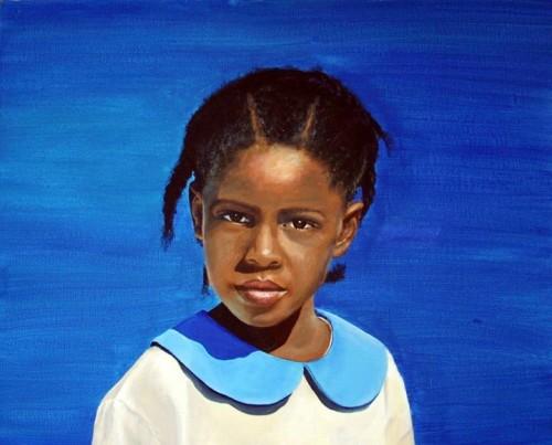 One Schoolgirl