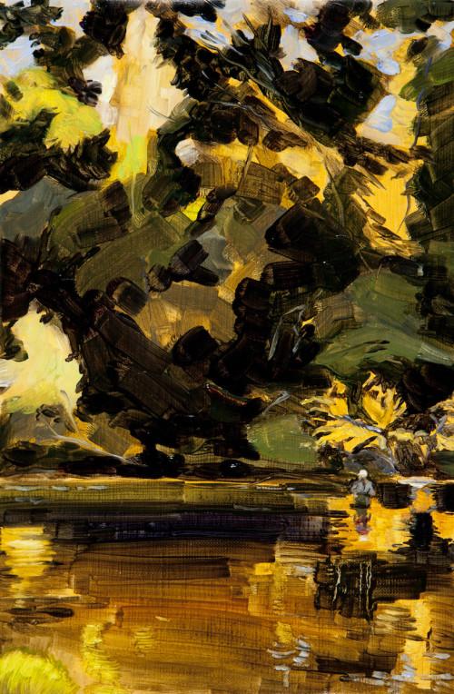 Tim Fishing, River Beauly