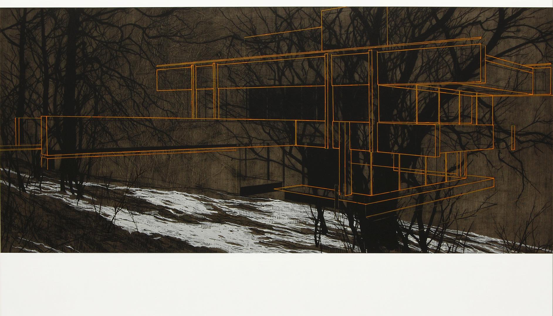 Bernat Klein Studio in Snow