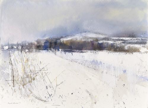 Towards the garlton Hills, East Lothian