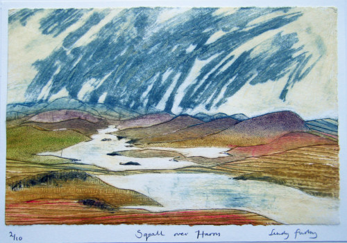 Squall over Harris