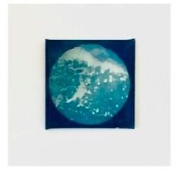 Full Moon Sea Print