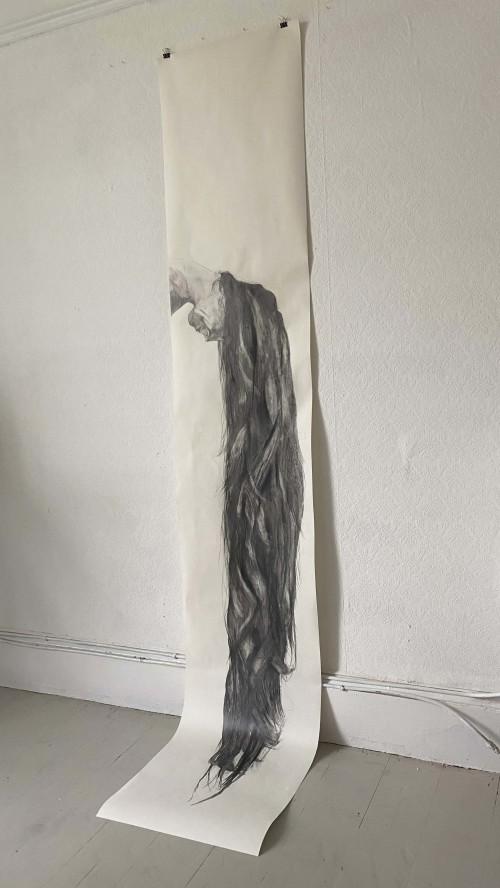 Wallpaper (250cm x 45cm), 2020