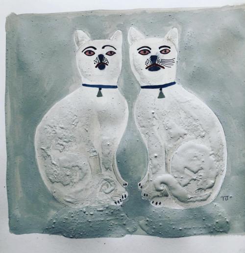 Staffordshire Cats