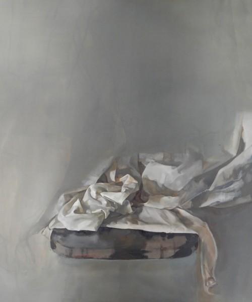 'Untitled', oil on linen, 100 x 80 cm, 2019