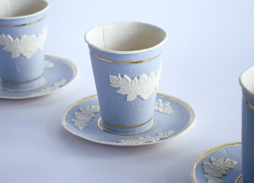 Finest Paperware; Porcelain Jasper Ware