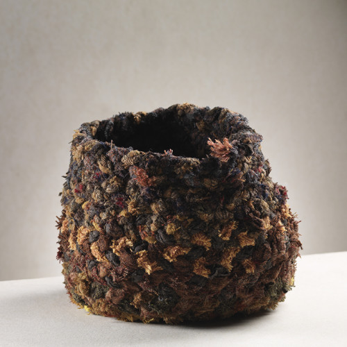 Bracken Bowl   23 x 30 cm    mixed fibres