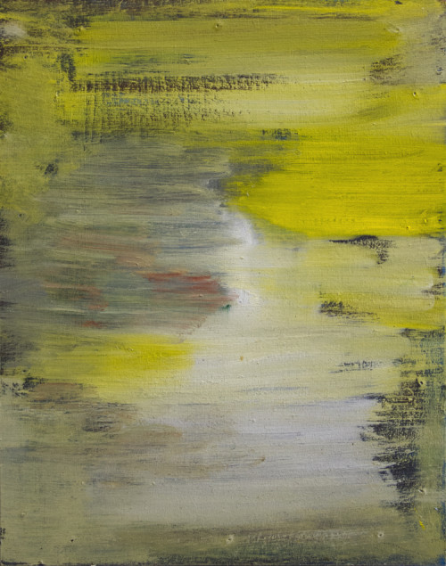 Abstract Yellow Reflection